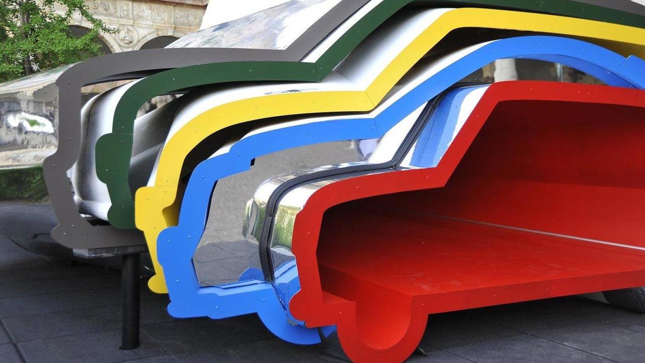 MINI artwork at Milan Design Week 18.04.2011