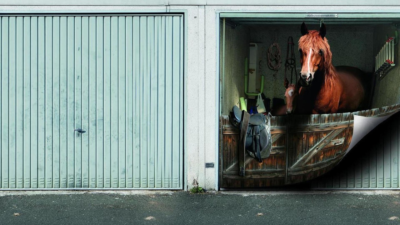 Tune Your Home With Garage Door Murals Nsfw