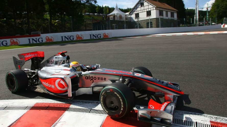 Hamilton Tops the Time Sheet at Spa-Francorchamps Friday Practice