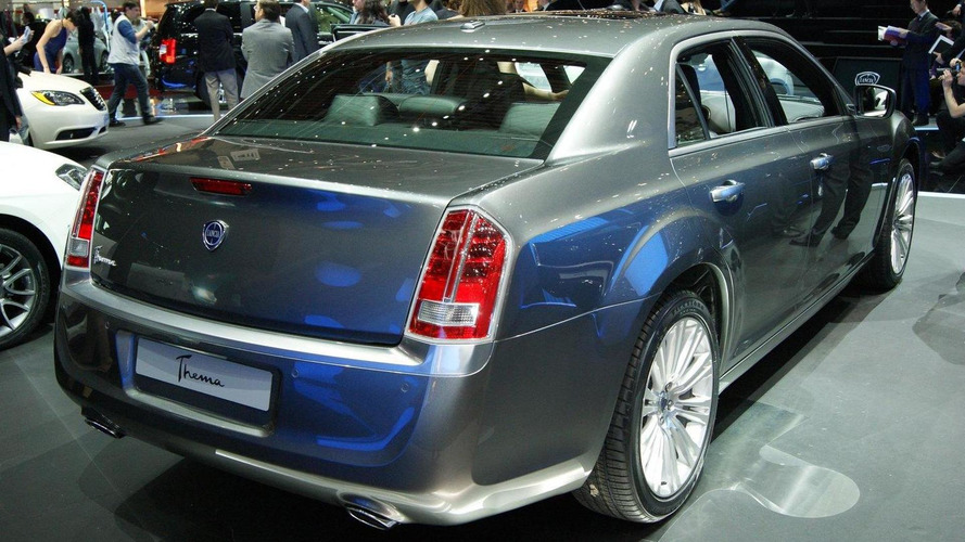 Lancia Thema is imported from Detroit