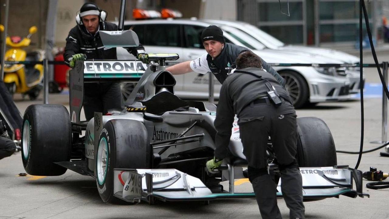 The car of Nico Rosberg (GER), Mercedes GP Petronas, W01, Chinese Grand Prix, 15.04.2010 Shanghai, China
