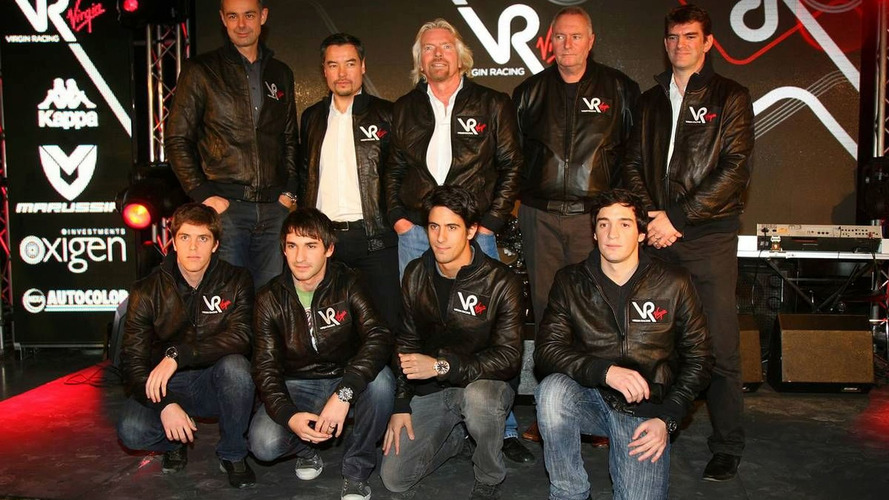 Virgin is F1's only fully British team - Branson
