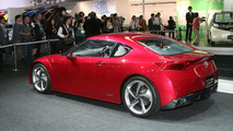 Toyota FT-86 Concept live at Tokyo Motor Show 2009