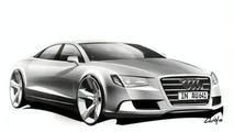 2011 Audi A8 design sketch - 500