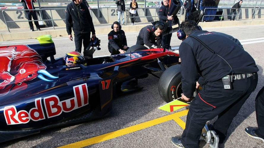 Final day of F1 testing at Valencia