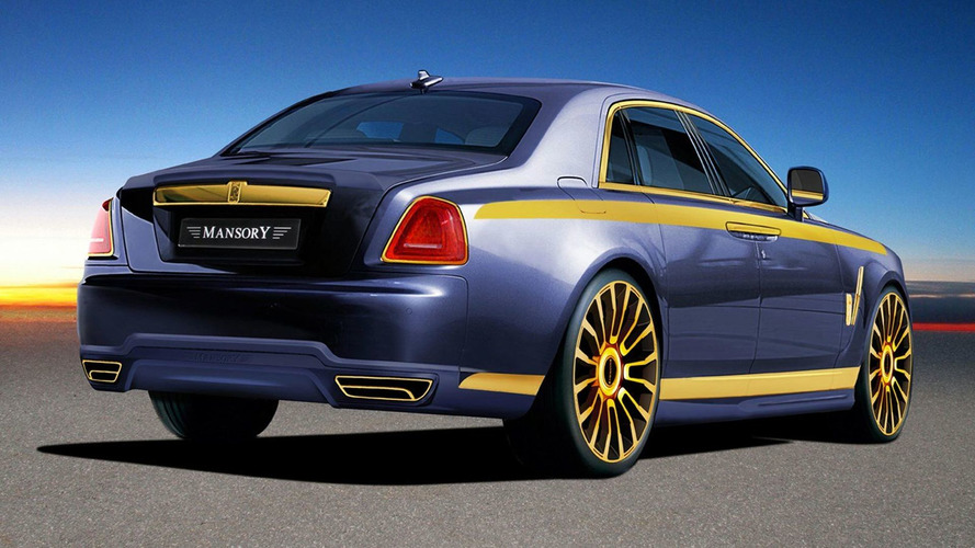 Mansory Preview Rolls Royce Ghost Tuning Program for Geneva Debut