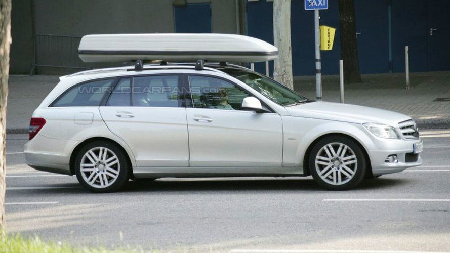 Mercedes C-Class Wagon Latest Spy Photos