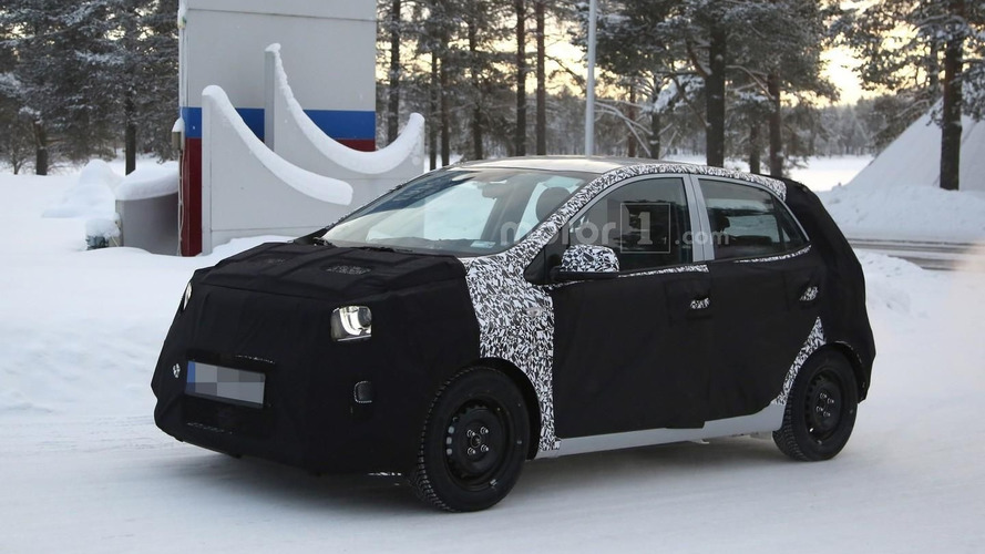 2017 Kia Picanto continues winter tests [video]