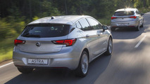 Opel Astra driver assistance systems