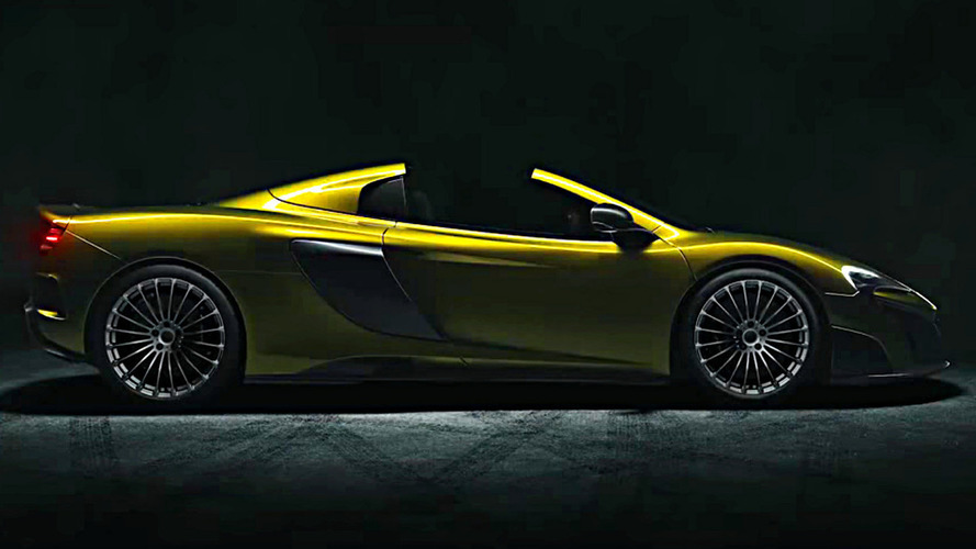 McLaren 675 RS Spider reportedly leaked