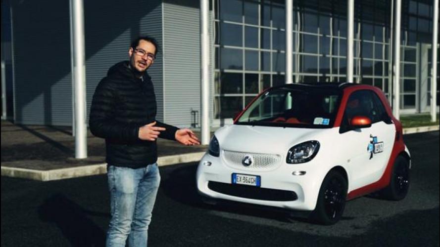 La smart fortwo secondo lo YouTester Paolo Decio