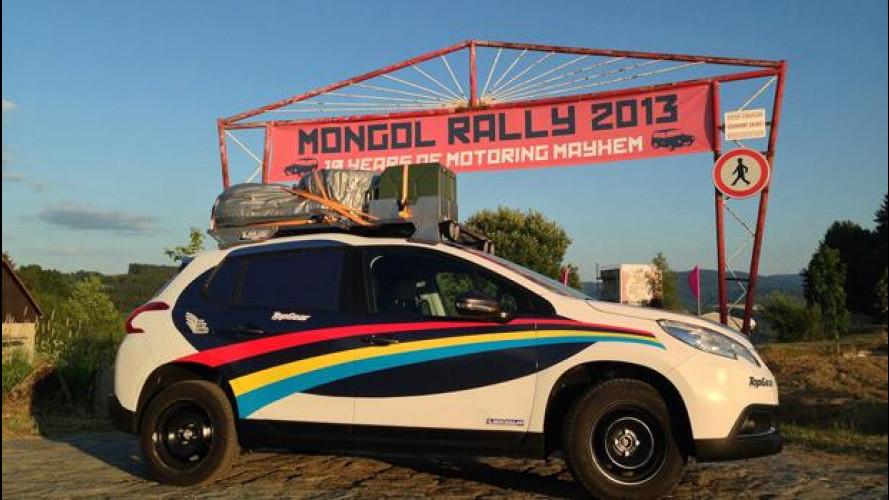 Peugeot 2008 e il Mongol Charity Rally 2013: missione terminata