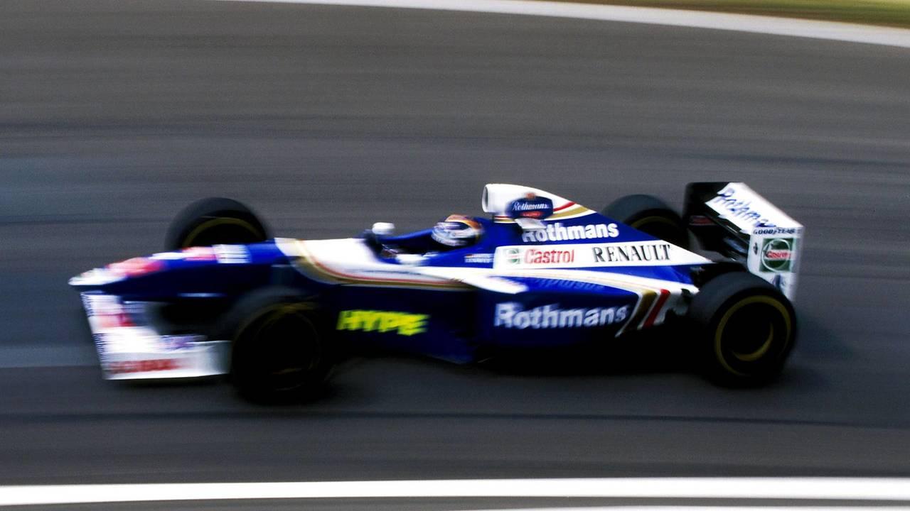 13. El Williams FW19 Renault de F1