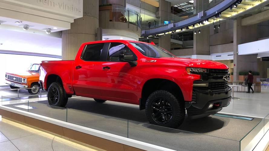 PHOTOS - Le nouveau Chevrolet Silverado au Salon de Détroit 2018