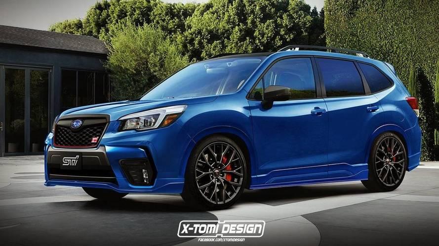 Subaru Forester STI'ın hayali tasarımı muhteşem görünüyor