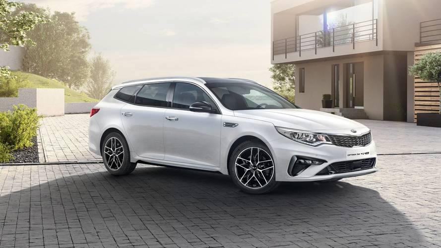 Kia Optima restyling 2018