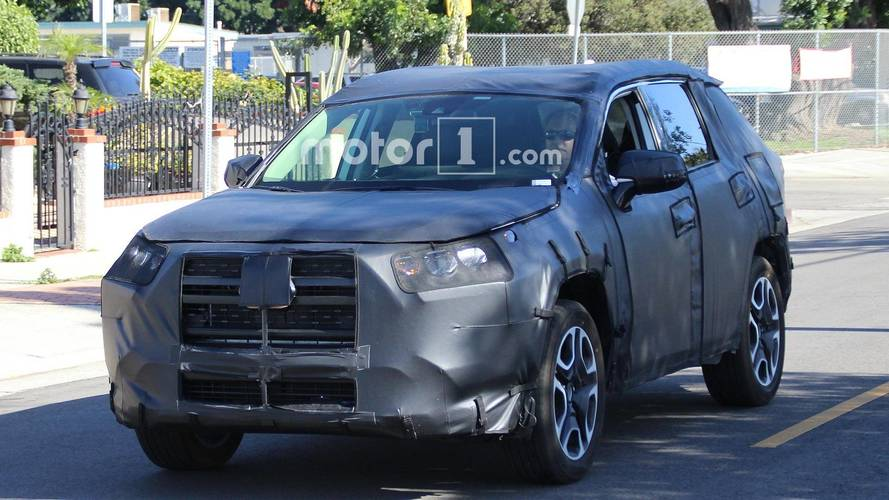 Next Toyota RAV4 Spied For First Time, Looks Brawny