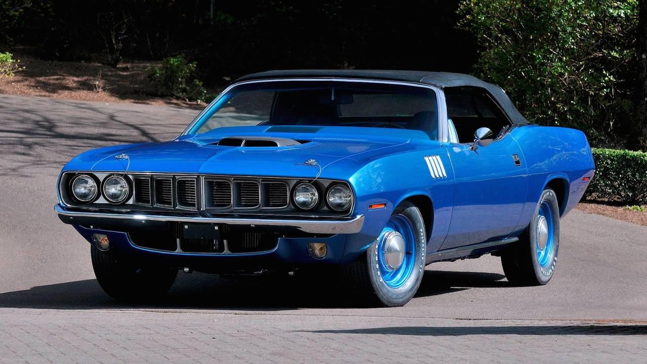 1971 Plymouth Hemi 'Cuda Convertible