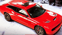 Dodge Challenger SRT Hellcat Shooting Brake render