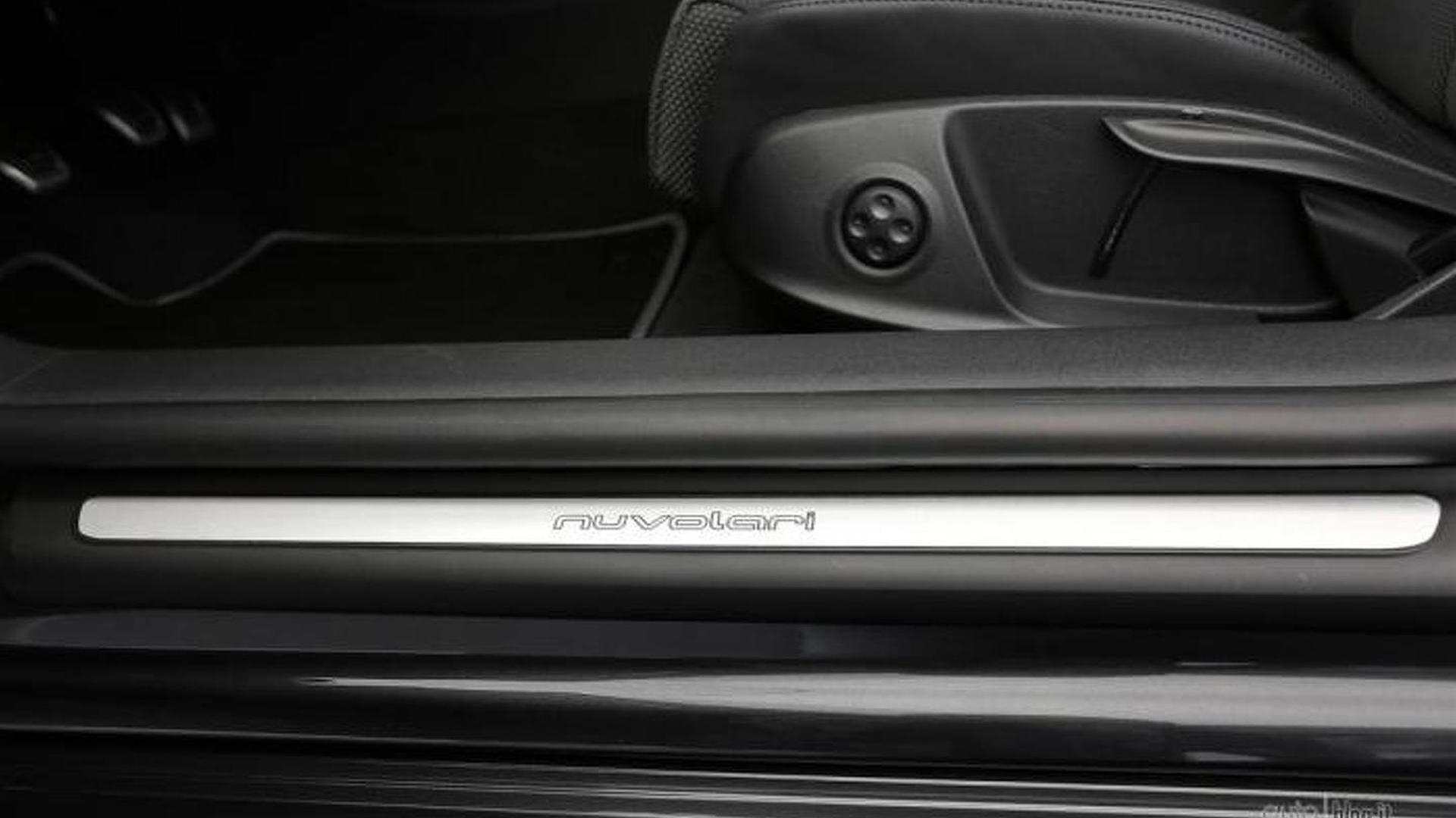 Регулировки сидений Audi TT Nuvolari