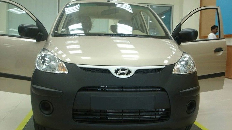 Hyundai Atos-replacing i10 Caught Unawares