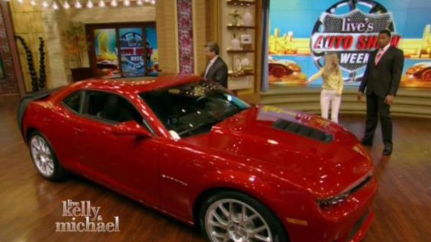 2014 Chevrolet Camaro SS revealed