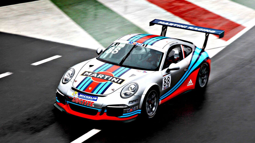Martini Racing unveils their Porsche 911 GT3 Cup