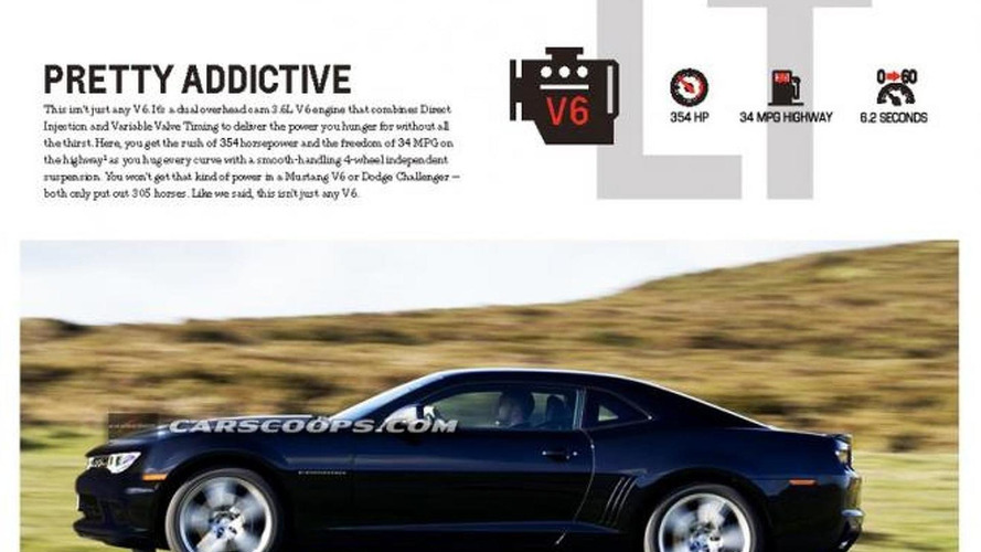2014 Chevrolet Camaro V6 to get a power boost - report