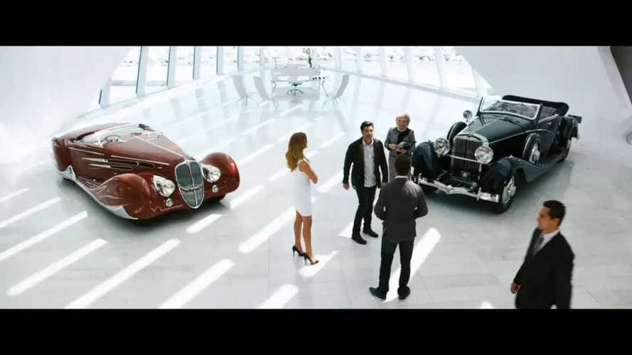 Transformers 3, le auto d'epoca
