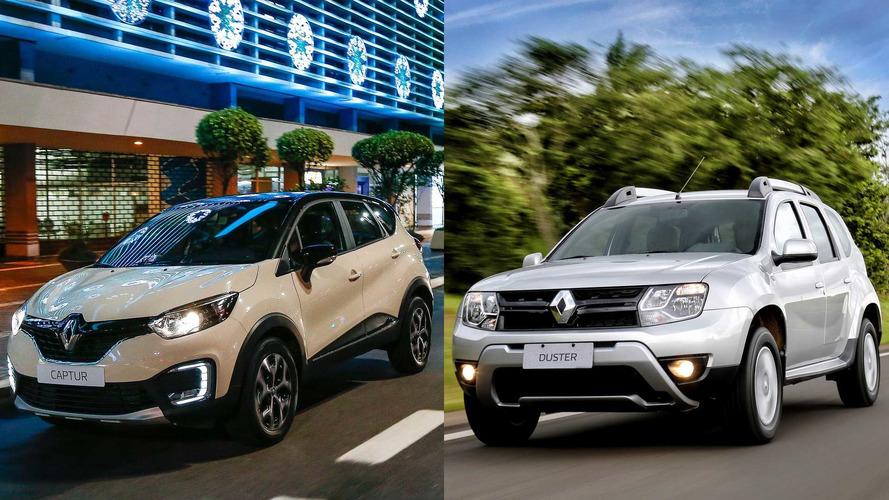 Briga em casa - Renault Captur Zen x Duster Dynamique 1.6