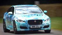 2018 Jaguar XJR at 2017 Goodwood Festival of Speed