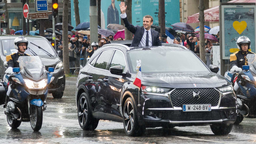 ds 7 revealed as france 39 s new presidential ride. Black Bedroom Furniture Sets. Home Design Ideas