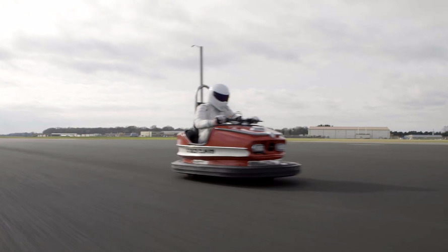 The Stig Goes 160 KM/H in a Bumper Car, Sets New World Record