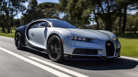 Bugatti Chiron Could Hit 300mph With Better Tyres
