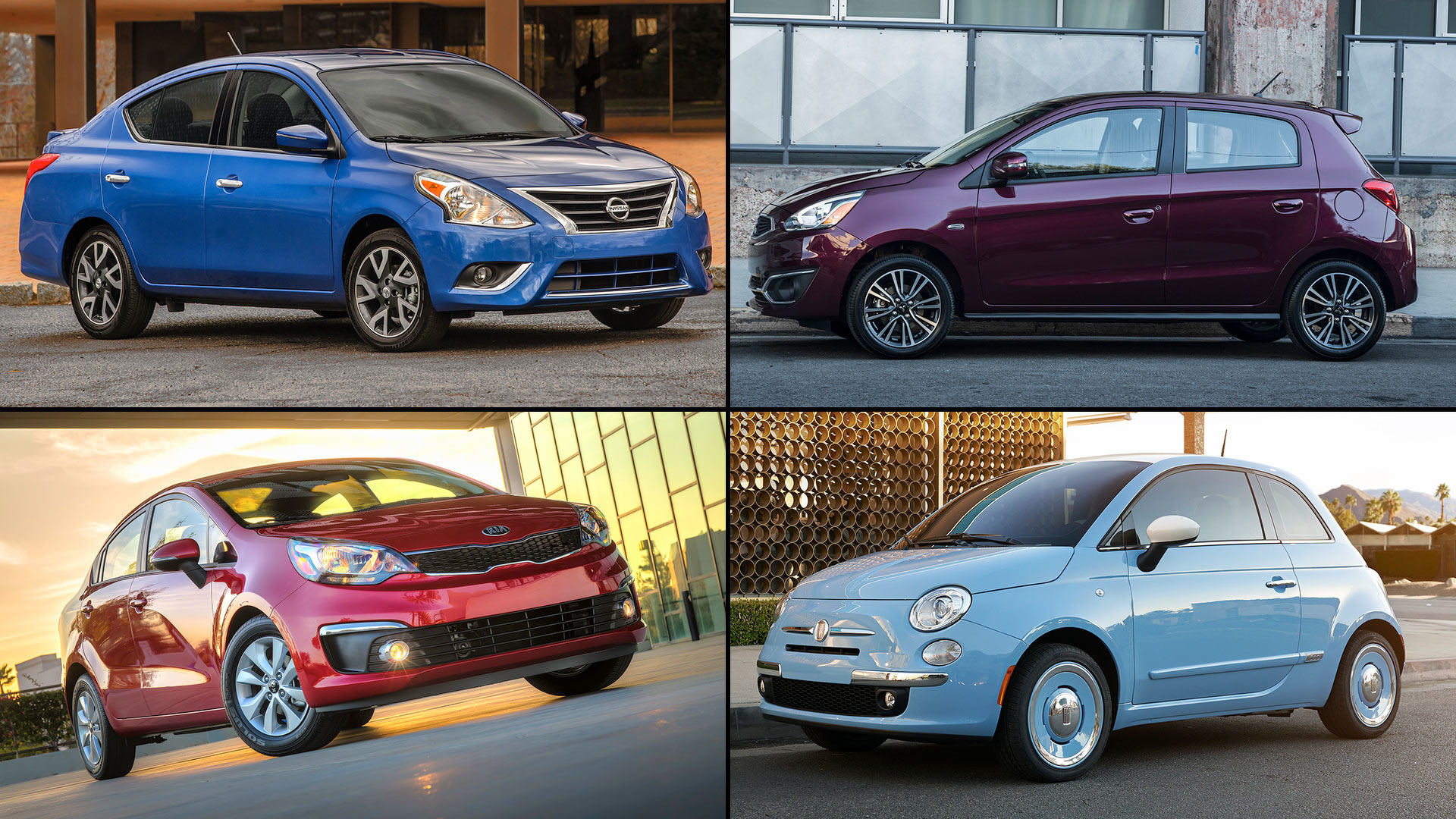20 Cheapest Cars For Sale In The U.S.
