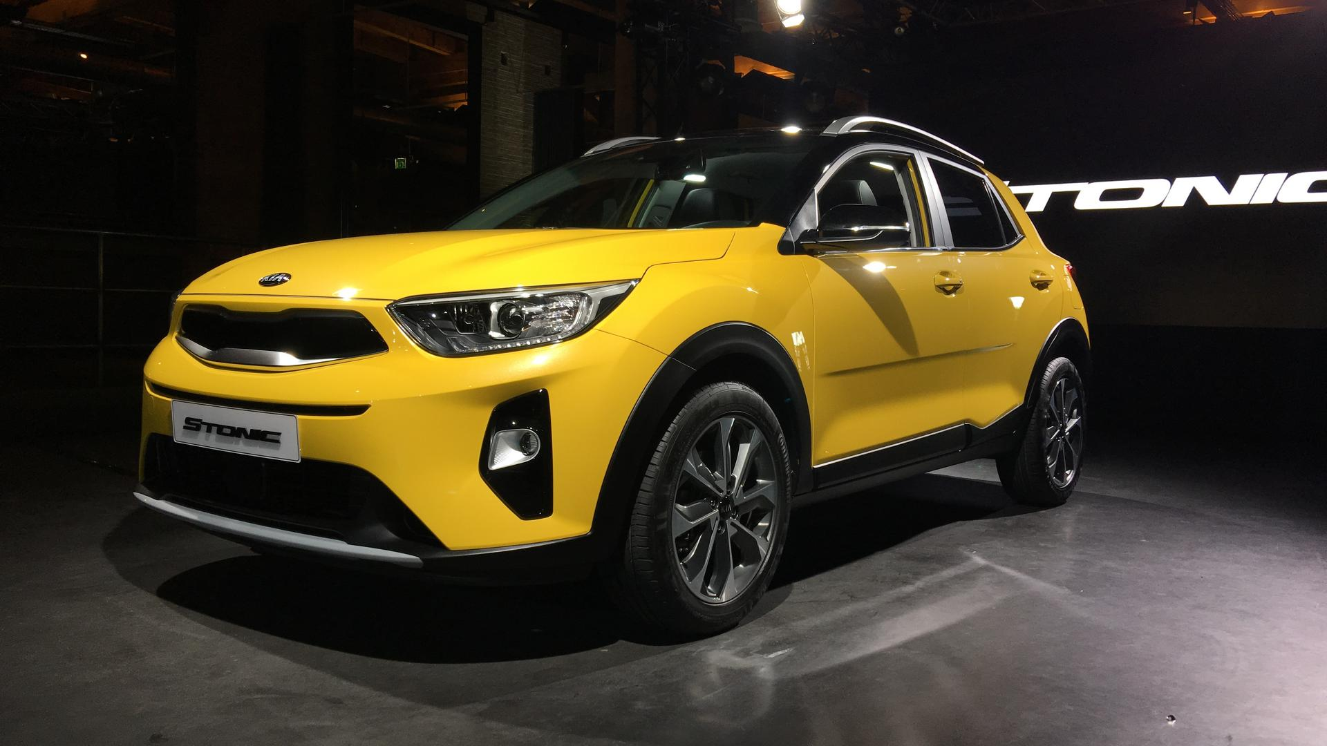 2018 Kia Stonic Subcompact Crossover Debuts In The Metal