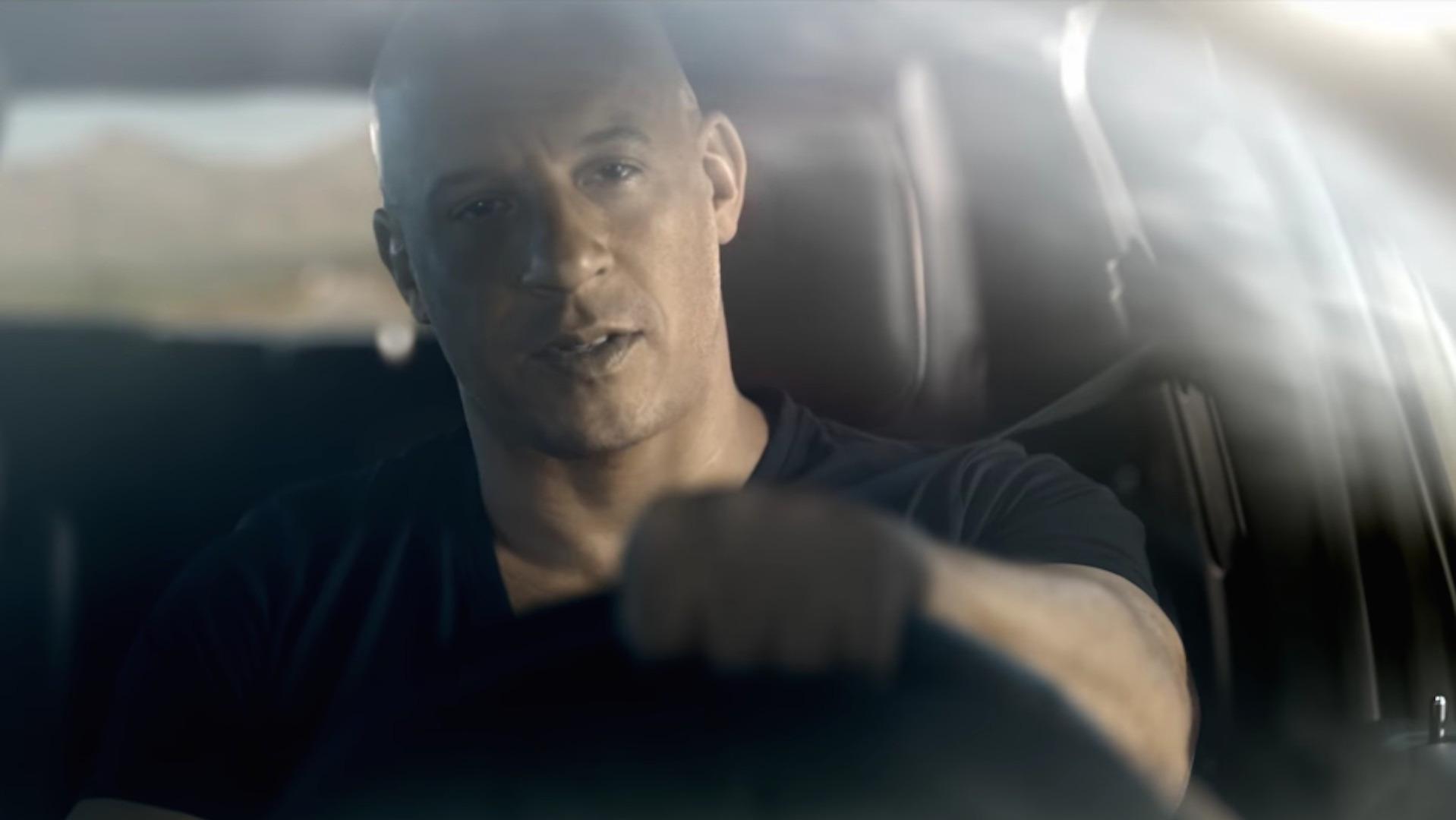 Charger Srt Hellcat >> Vin Diesel Flexes His Muscle In New Dodge SRT Commercials