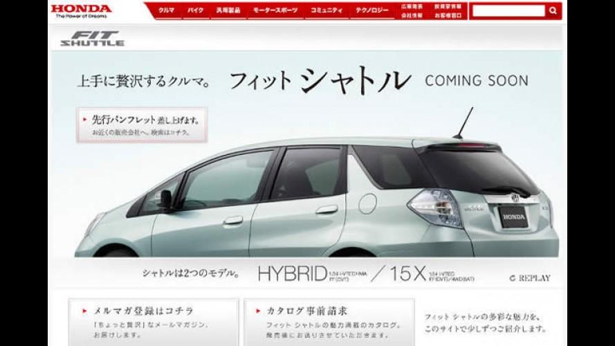 Honda exibe primeira imagem do Fit Shuttle