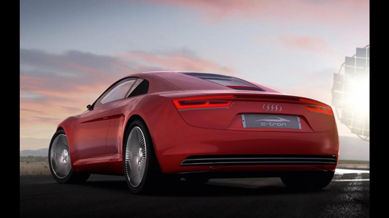 Audi confirma produção de 1000 unidades do elétrico e-Tron