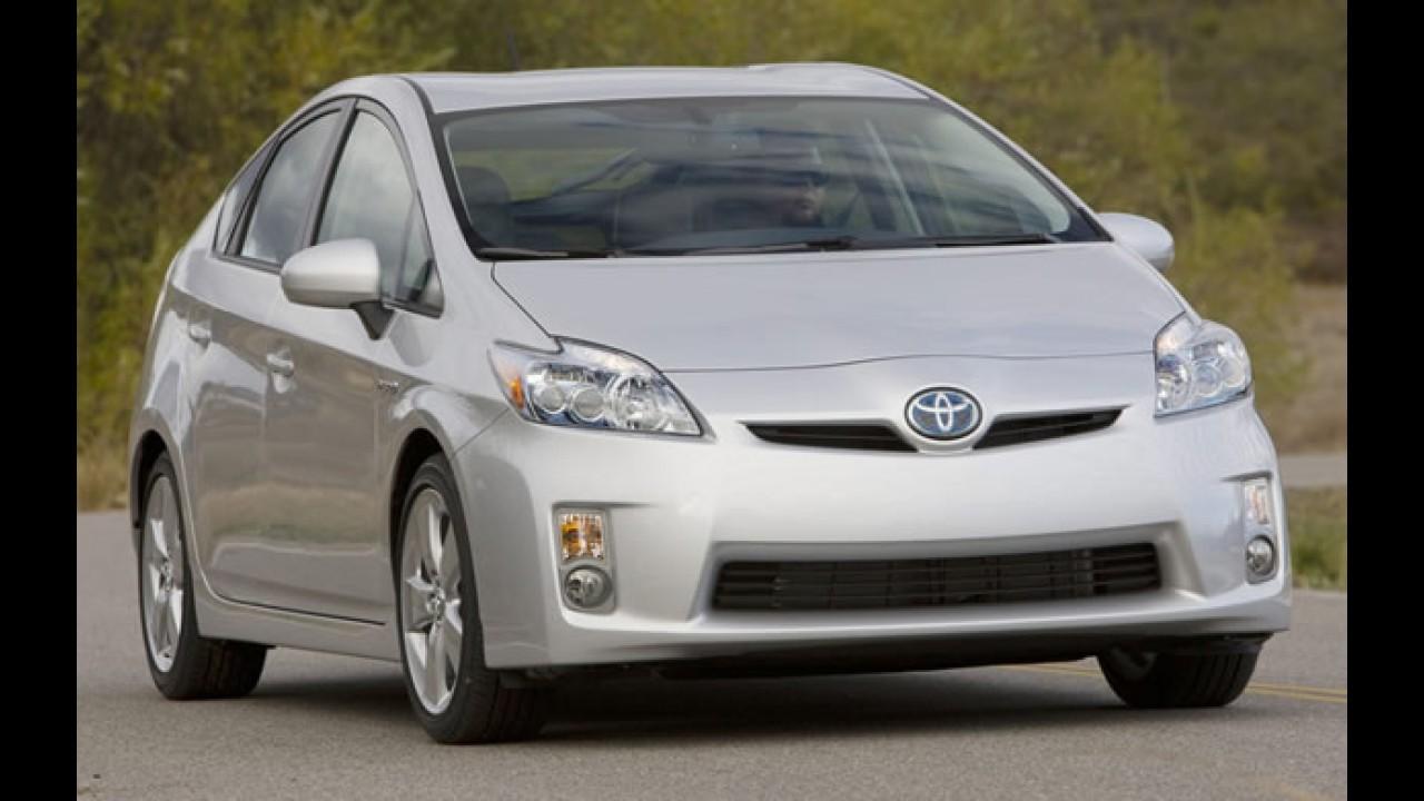 Toyota confirma problema nos freios do Prius – Secretário dos EUA pede para não dirigir Toyotas