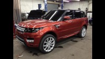 Revelado: Novo Range Rover Sport 2014 é flagrado sem disfarces