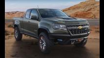 Chevrolet revela Colorado ZR2 com motor diesel 2.8 Duramax de 181 cv