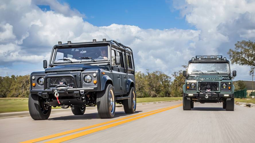 How Three British Blokes Took Defender Tuning In US To New Level