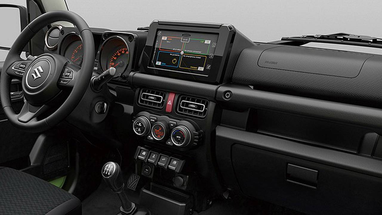 2019 suzuki jimny official image photos. Black Bedroom Furniture Sets. Home Design Ideas