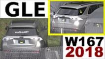2019 Mercedes GLE almost no camo spy photos