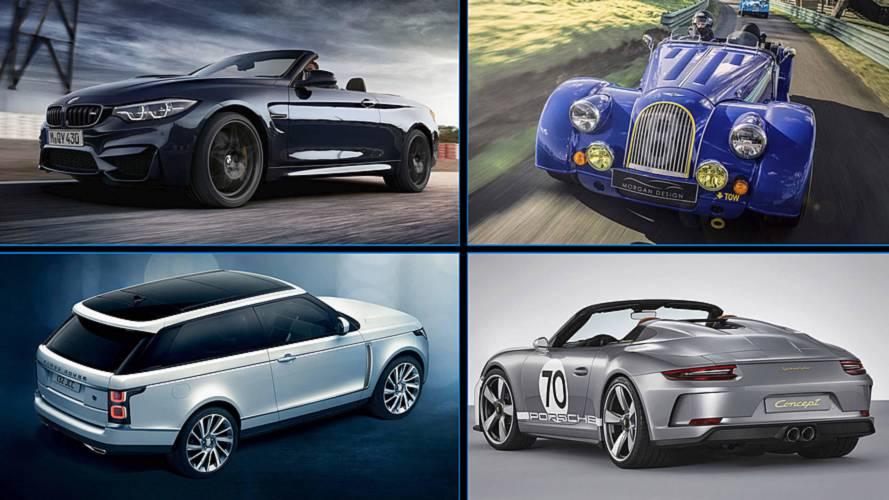 9 aniversarios destacados de marcas y coches en 2018