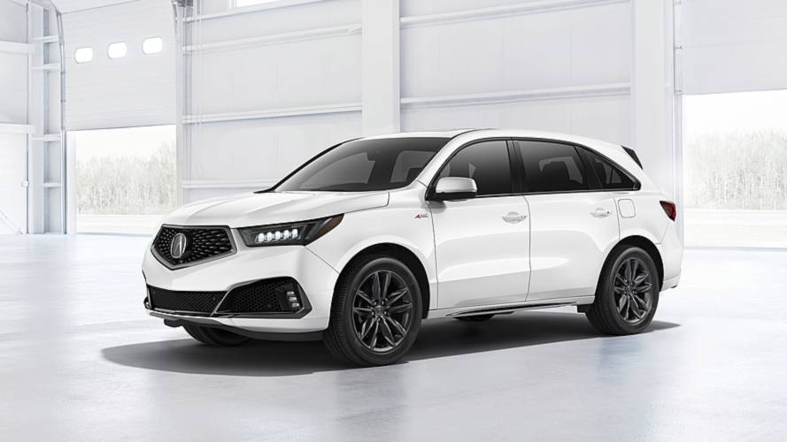 2019 Acura MDX Debuts With Nicer Interior, Sporty A-Spec Trim