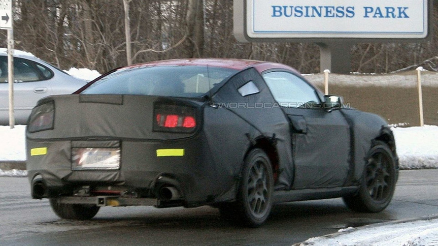 2010 Mustang GT Spied on the Road