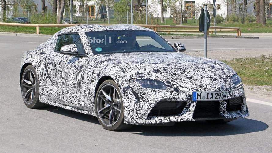 New Toyota Supra Caught Riding On Production Wheels