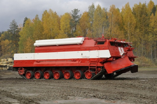 Armored Russian Fire Truck is Ready for the Apocalypse